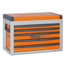 Beta C23S - 2300S 5 fiókos szerszámláda – narancssárga színben