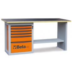 """Beta C59A - 5900A """"Endurance"""" munkapad egy 6 fiókos blokkal – narancssárga színben"""