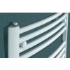 Betatherm BY 50780 (785*500) íves fürdőszobai radiátor, fehér, BY Dhalia törölköző szárító radiátor, fürdőszobai csőradiátor, BY Dhalia