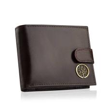 Betlewski elegáns pénztárca barna