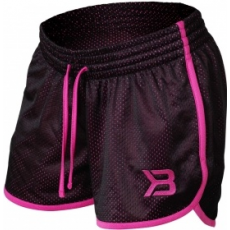 Better Bodies Race Mesh Short (fekete/pink) (1 db)