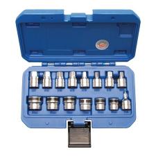 BGS 15 részes mágneses dugókulcsok olajleeresztő csavarokhoz dugókulcs