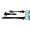 BGS -1789 Kábelkötegelő készlet, fekete, 75 db, különböző méretek