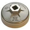 BGS Olajszűrő leszedő dugókulcsok, alumínium fröccsöntött, 74mm