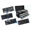 BGS Technic 3 fiókos szerszámosláda 143 részes szerszámkészlettel (BGS 3318)
