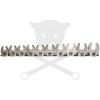 """BGS Technic Villáskulcs klt. nyitott 3/8""""-os metr. fejek 10-19 mm """"Crowfoot"""" BGS (9-1756)"""