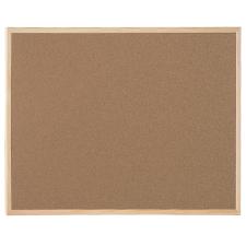 BI-OFFICE Parafatábla egy oldalas fa keretes, 60x120cm -SF261001010- BI-OF parafatábla