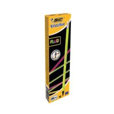 Bic Grafitceruza BIC Eco Evolution 655 HB hatszögletű fluo radíros ceruza
