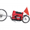 Bicikli Pótkocsi Egykerekű Tároló Táska
