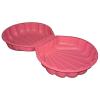 Big kagyló homokozó rózsaszín színben