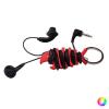BigBuy Accessories Kábel Rendező és Nyitó Kulcstartó 143902 Fekete