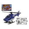 BigBuy Fun Helikopter Rescue Team Kék