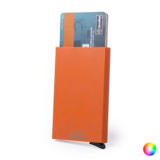 BigBuy Gadget RFID Kártyatartó AutomatikusMechanizmussal 146173 Narancszín