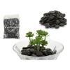 BigBuy Home Stone Set (2 kg) Fekete