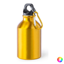 BigBuy Outdoor Alumínium palack (330 ml) 144821 Fekete kemping felszerelés