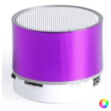 BigBuy Tech Bluetooth hangszóró LED lámpával 145775 Ezüstszínű hordozható hangszóró