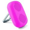 BigBuy Tech Hordozható Hangszóró Karabínerrel 1,5W Rózsaszín