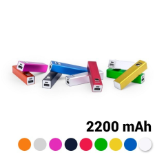 BigBuy Tech Power Bank 2200 mAh USB 144743 Kék power bank