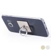 BigBuy Tech Ragasztható Mobiltartó Kettős Funkcióval 145551 Aranyszínű