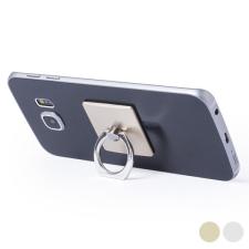 BigBuy Tech Ragasztható Mobiltartó Kettős Funkcióval 145551 Aranyszínű gps kellék