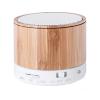 BigBuy Tech Vezeték nélküli Bluetooth Hangszóró USB FM 3W Bambusz 146143