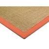 Bighome.hu Koberec Bordered SISAL Rug 160x230cm Linen, Orange - prírodná