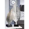 Bighome.hu Ozdobná socha BLETT, 58 cm - strieborná