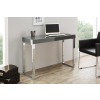 Bighome.hu Písací stôl GREY 120 cm - tmavosivá