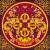 Bindu Mandala hűtőmágnes
