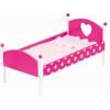 Bino Rózsaszín Fajáték ágy, Mintás ágyneművel