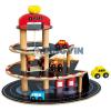 Bino Toys Fa parkolóház járművekkel