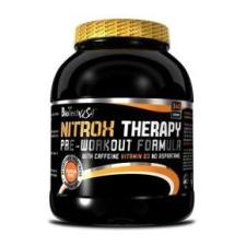 BioTech Nitrox Therapy (új) őszibarack  - 340g táplálékkiegészítő