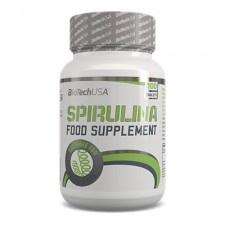 BioTech Spirulina tabletta 100 db vitamin és táplálékkiegészítő