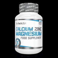 BioTech USA BioTech Calcium Zinc Magnesium (100 tabletta) vitamin