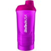 BioTech USA Wave+ shaker 600 ml (+200 ml +150 ml) (magenta) (1 db)