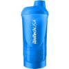 BioTech USA Wave+ shaker 600 ml (+200 ml +150 ml) (türkiz) (1 db)