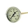 Biterm (magyar) Kemencehőmérő 0+600˚C-os, 6cm-es, menet nélkül