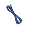 Bitfenix 3-Pin hosszabbító 90cm - kék / kék