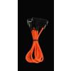 Bitfénix Bitfenix Molex - 3x 3-Pin 7V Adapter 20cm - narancssárga / fekete