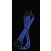 Bitfénix Bitfenix Molex SATA adapter 45 cm - kék / fekete