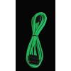 Bitfénix Bitfenix Molex SATA adapter 45 cm - zöld / fekete