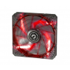 Bitfenix Spectre PRO LED Red 140mm (fekete) (BFF-LPRO-14025R-RP)
