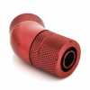 Bitspower Csatlakozó 45° G1/4, 11/8 mm - vérvörös, forgatható
