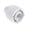 Bitspower Csatlakozó G1/4, 19/13 mm - fehér, forgatható