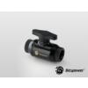 Bitspower Matt Black Dual Rotary Mini Valve With Inner G1/4 Extender /BP-MVVRIG14X2-MBKBK/