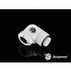 Bitspower Multi-Link Adapter Deluxe White Enhance  90° forgatható G1/4