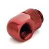 Bitspower Winkel G1/4 - G1/4 - vérvörös, forgatható