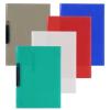 Biurfol klippes gyorsfűző, clip mappa PP A4, színes kék