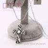 Black & White Cross medál, vagy medál+lánc