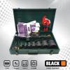 BLACK csőhegesztőgép műanyaghoz 2700W 16-63mm 13db-os készlet fém kofferben 38400